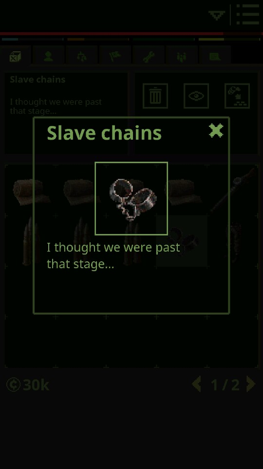 Slave chains[ENGLISH]